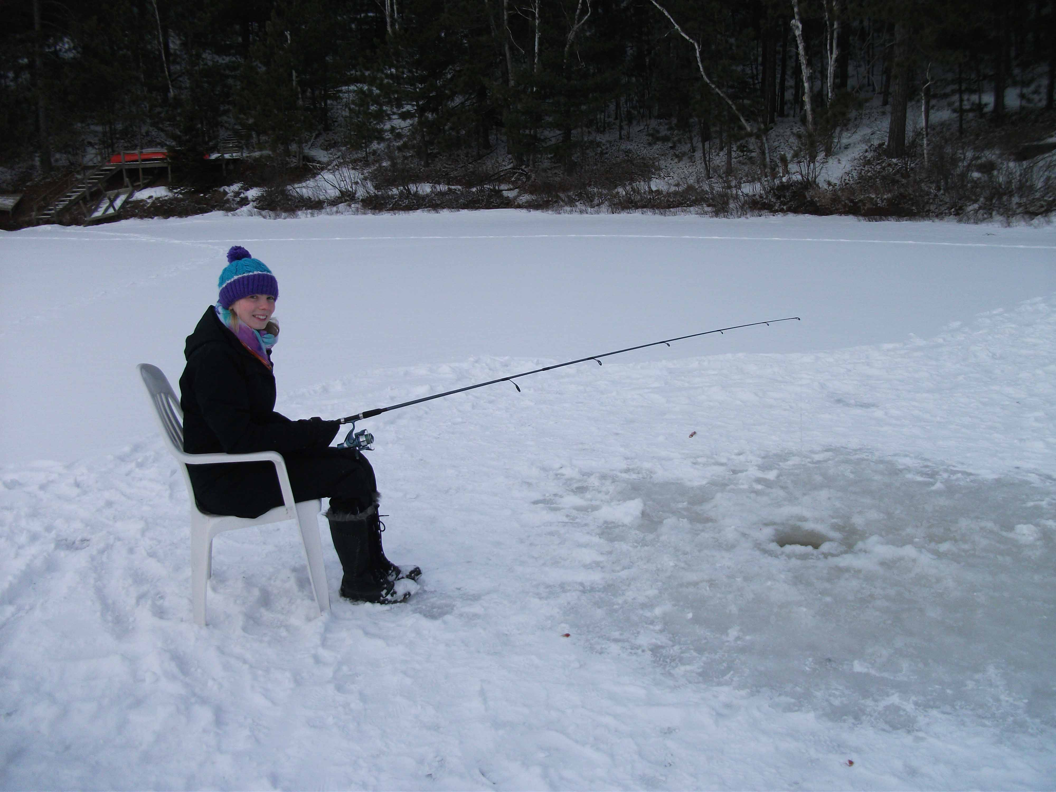A scottish girl in canada a year on exchange at queen s for Ice fishing canada