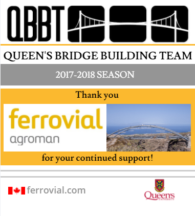 Queen's Bridge Building Team