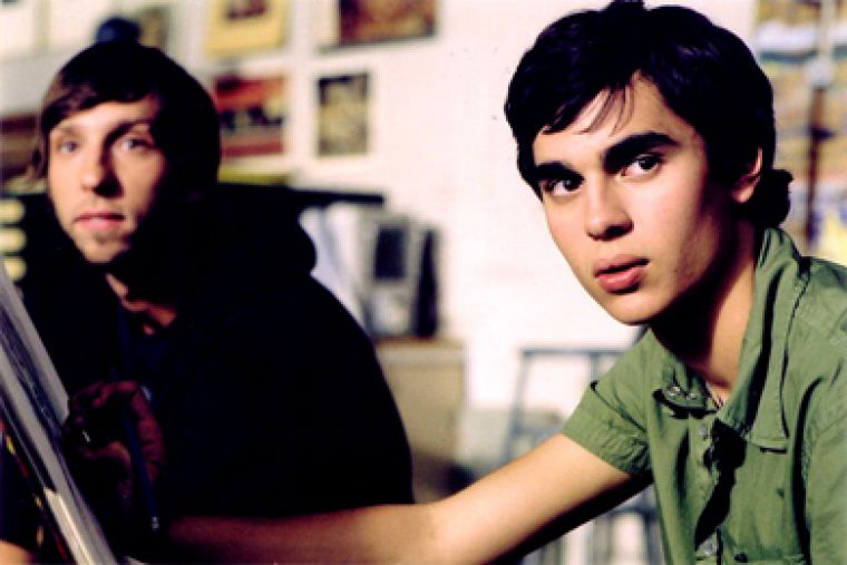 The young artist Jerome (Max Minghella) with his untalented classmates.