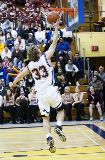 The men's basketball team were ranked 11th in the country on three occasions this season.