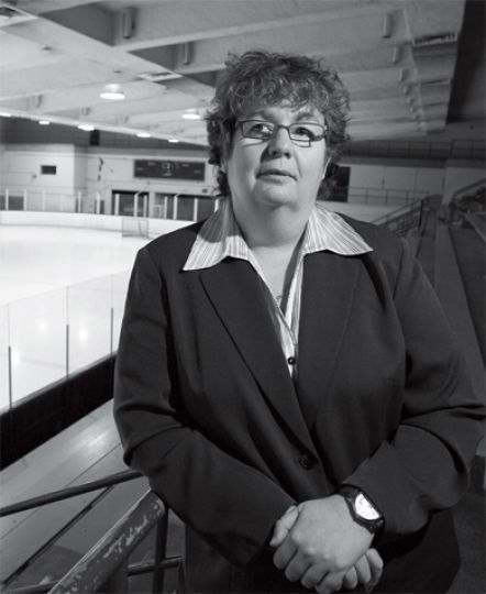 New athletic director Leslie Dal Cin plans to take Queen's Athletics in a new direction.