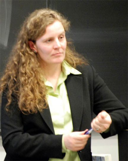 Amelia Clarke speaks about the importance of campus environmentalism.