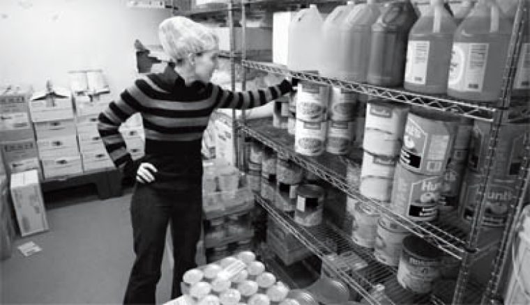 Karen Williams started working for Sodexho at Brock University, where she oversaw retail services. At Leonard, she is responsible for serving 22,000 meals each week.