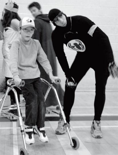 The theme for the Winter Adaptive Games was superheroes.