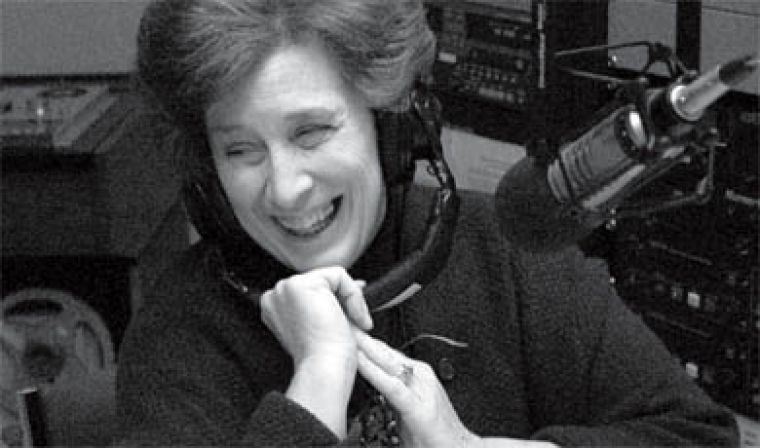 "Hitchcock pre-records her radio show, ""The Best of our Knowledge,"" at CFRC every Wednesday. It's broadcasted to over 125 countries from Albany, N.Y."