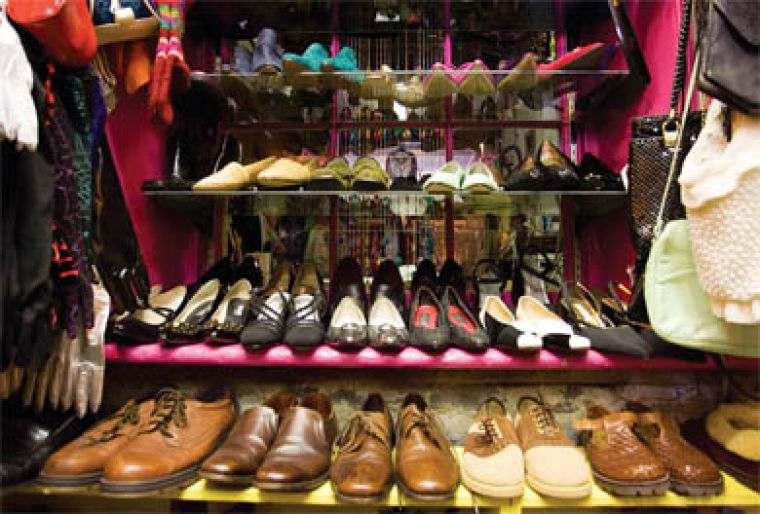 What'll I Wear specializes in one of a kind, over-the-top vintage clothing and accessories.