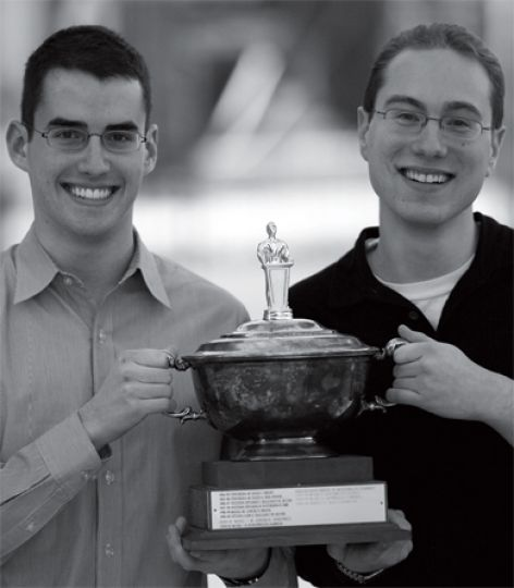 Danny Saposnik, ArtSci '07, and Jeremy Opolsky, ArtSci '08, won the Central Canadian Debating Championships, held from Feb. 9 to Feb. 11.