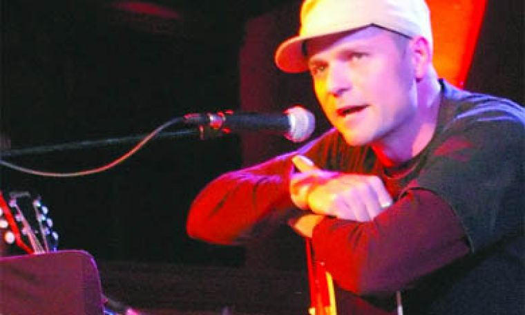 Gord Downie played the Heart of a Lake tour at the Sydenham Street United Church.