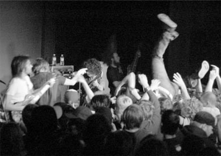 Protest The Hero's apparent contempt for the audience and occasionally sloppy playing couldn't dampen the enthusiasm of their fans.