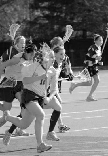 Women's lacrosse was undefeated in exhibition play last weekend.