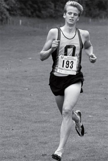 Robert Kitz was first across the line at the Western International last Saturday.