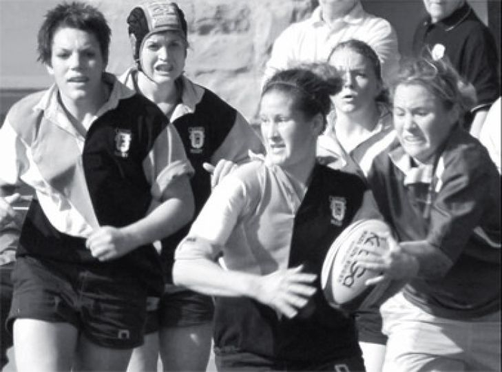 Women's rugby will look to rise in the rankings Saturday in Guelph.