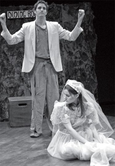 Bertolt Brecht's play focuses on the plight of young Shen Te.
