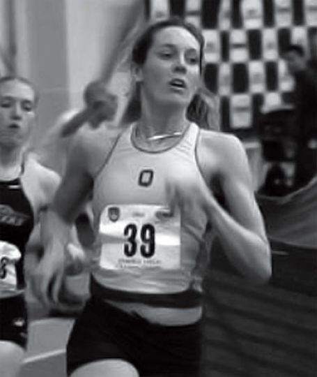 Calla Humphries competes at Cornell last month.