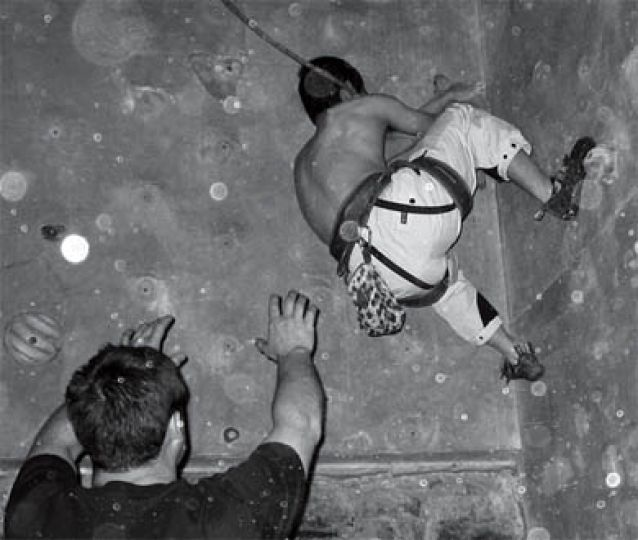 The Queen's Climbing Club hosted their annual competition at the Boiler Room climbing gym last weekend.
