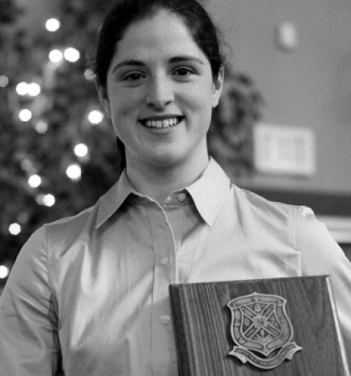 Eilish McConville was awarded the PHE '55 Trophy.