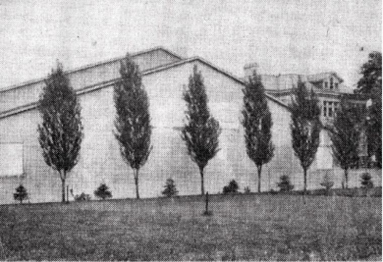 Jock Harty Arena as it once was, upon opening in 1922 on Arch Street.