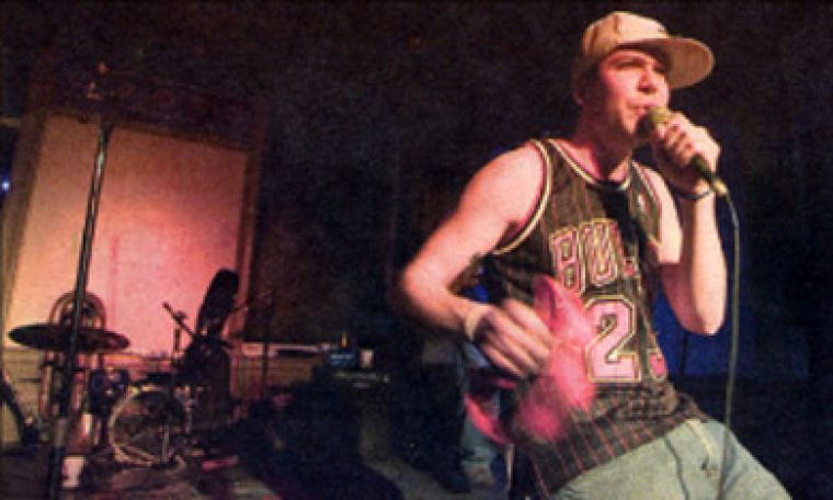 Derek Zwiep of The Cowboys aired his grievances about the campus music scene.