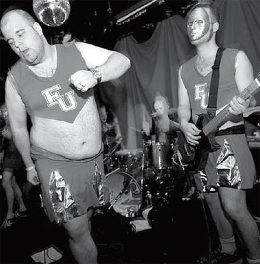 Fucked Up perform at the El Mocambo in October 2006.