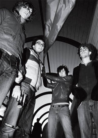 Tokyo Police Club is currently working on material for their upcoming release.