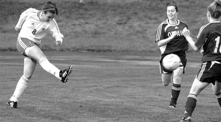 Women's soccer lost 2-1 to the Ottawa Gee Gees Wednesday at Richardson Stadium.
