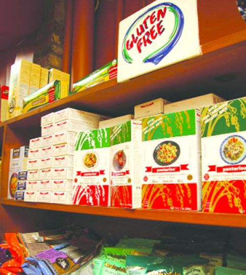 Gluten-free options for celiac woes can also be found at Tara Natural Foods.