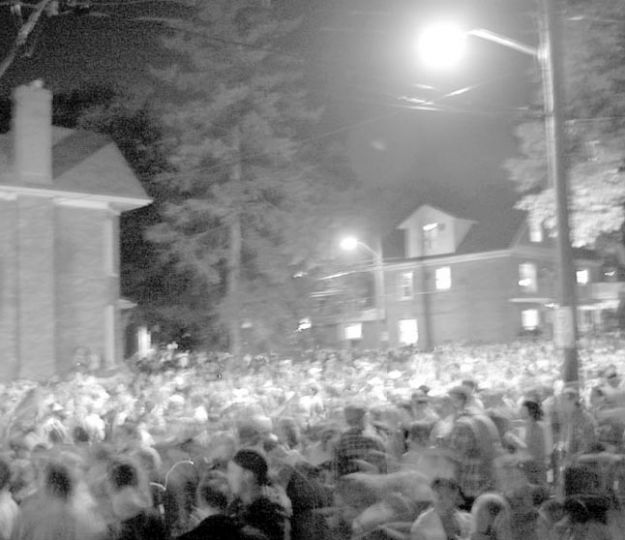 Homecoming festivities on Aberdeen last year.