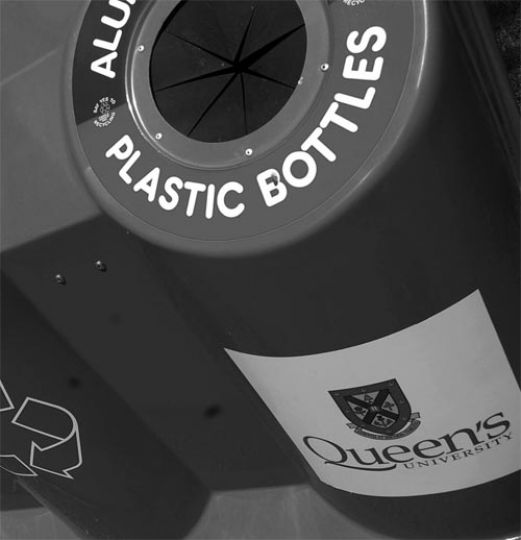 "The University installed public space recycling bins following a suggestion from the ""Student Village Group,"" who pitched the idea hoping to improve the Ghetto."