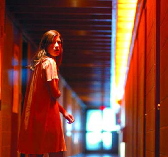 Emily (Jennifer Carpenter) takes a stroll in The Exorcism of Emily Rose.