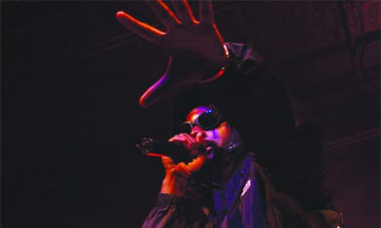 "K-OS proves to the frosh that ""hip-hop's not dead—it's all in the emcee"" at the annual frosh concert last Friday."