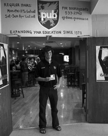 TAPS Head Manager Ian Anderson said StuCons will scan student IDs at the AMS pubs' doors.