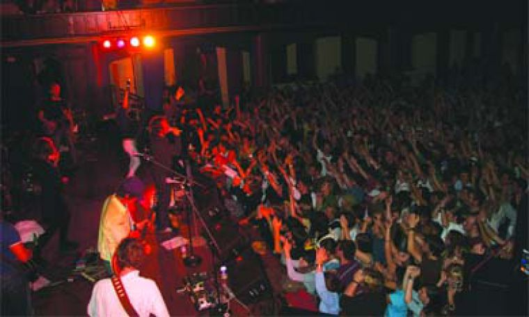 Broken Social Scene played to a packed house on Wednesday night at Grant Hall. Please see the complete story on page 14.