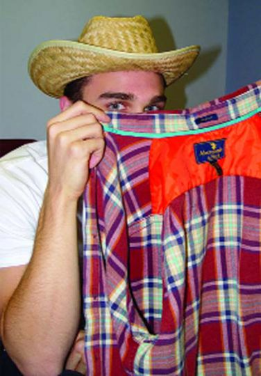 2. WILSON (OF HOME AND IMPROVEMENT): Wear a plaid shirt and a substantial hat of your choice.