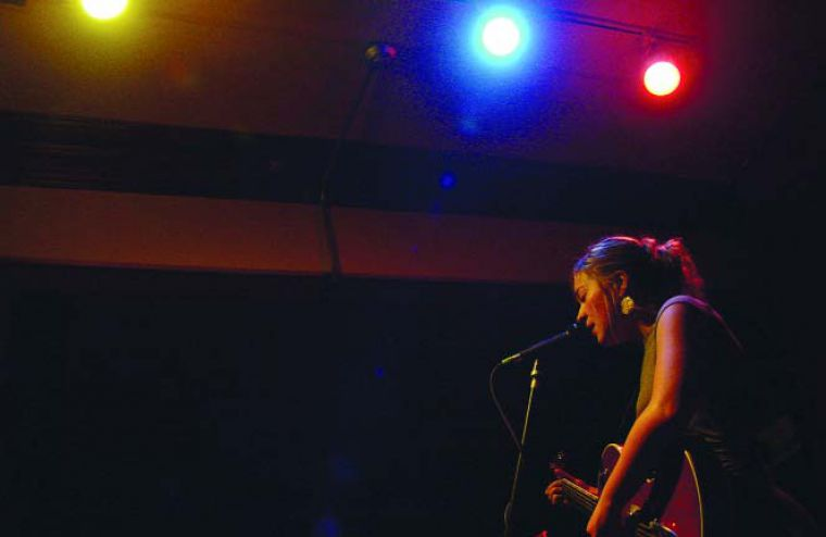 Queen's grad Jill Barber charmed the audience at The Grad Club Tuesday night.