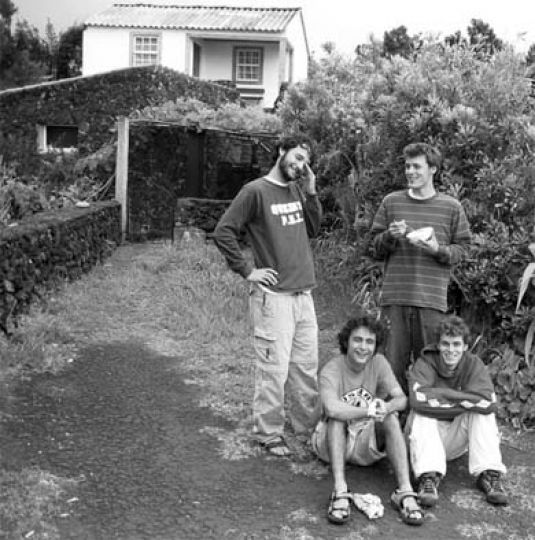 Unlike other Canadian bands, Here and There recorded an album in Portugal's Azores Islands.