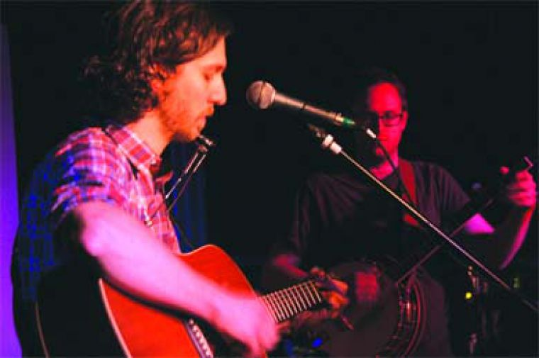 The Great Lake Swimmers took the stage at Elixir on Jan. 12, playing a well-received set to a moderately-sized crowd.