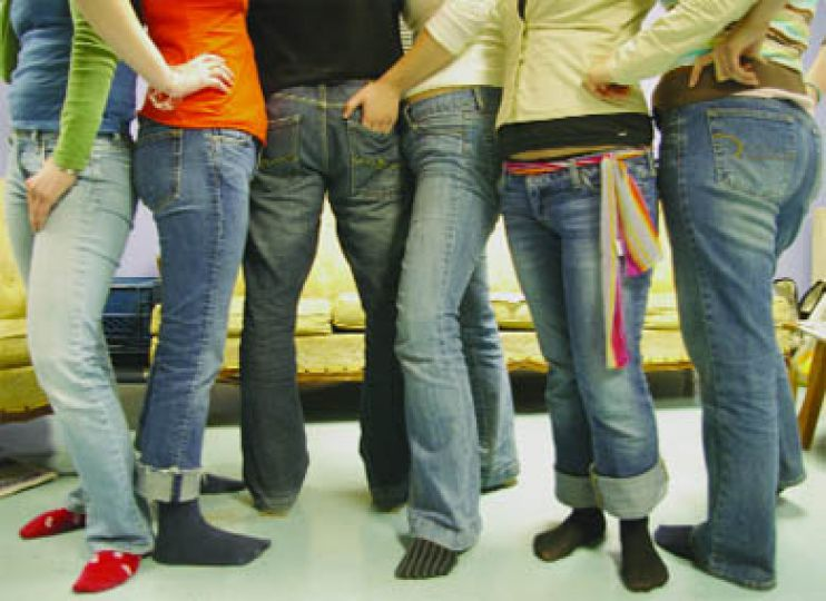 Denim has evolved from a functional fabric to a high fashion statement.