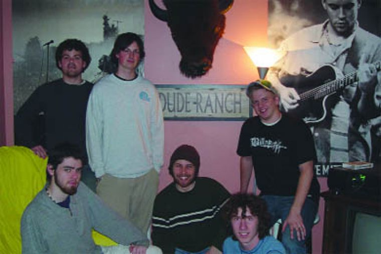 The guys at the Dude Ranch live in peace and harmony—except on Fridays.