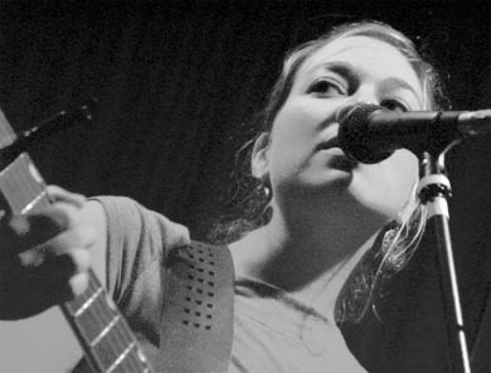 Queen's alum Jill Barber joined Jane Siberry onstage last Thursday evening.