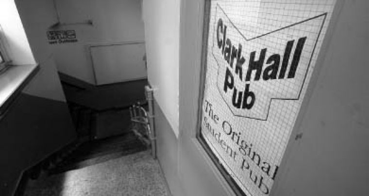 Clark Hall Pub's doors closed indefinitely on June 27. The Engineering Society terminated all pub staff and supplier contracts.