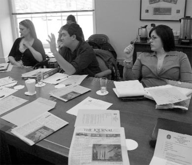The Committee for the Safe and Legal Use of Public and Private Space met yesterday.