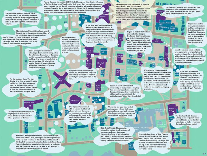 The Journal's guide to campus.