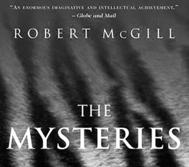 The cover of Robert McGill's debut novel, The Mysteries.