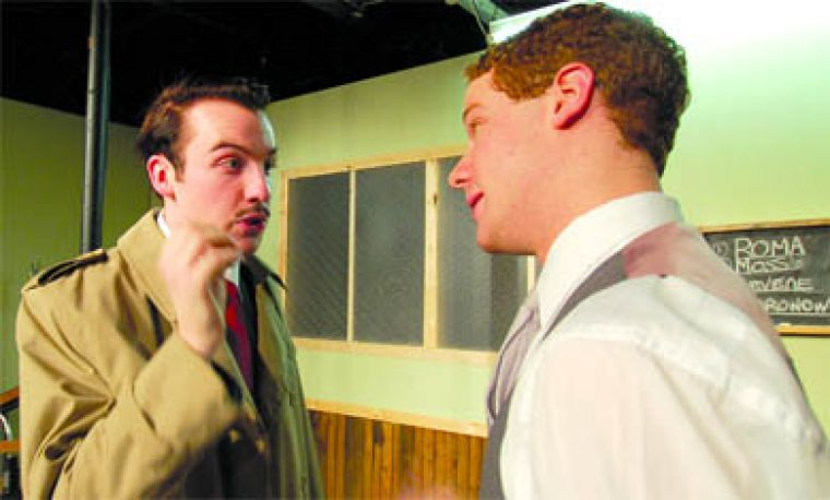 Strong male cast members infuse life and energy into David Mamet's near-classic play, Glengarry Glen Ross, now at Theatre 5.