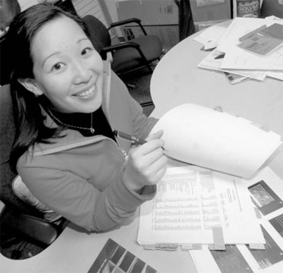 Jenn Hirano, VP (Operations), is responsible for reviewing the annual AMS budget.