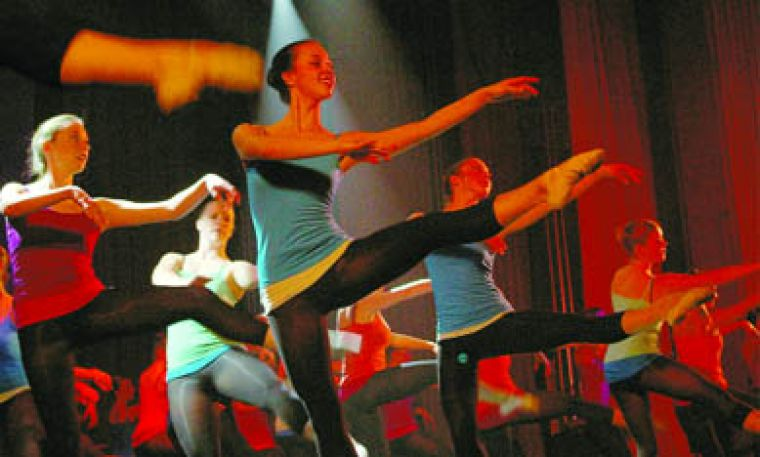 The Queen's Dance Club performed to a packed house Saturday on West Campus.