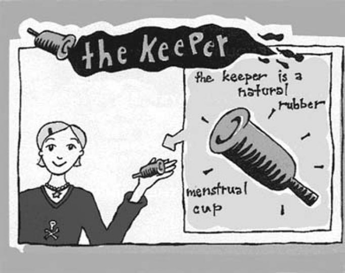 The keeper can last up to forty years and is available at the SHRC.