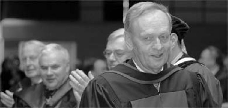 Former Prime Minister Jean Chrétien received an honorary doctorate from Queen's on May 27.