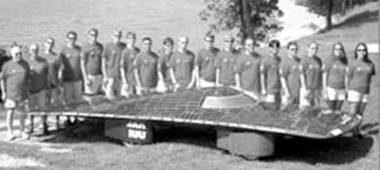 The Queen's solar car team was forced to cut their cross-country tour short.