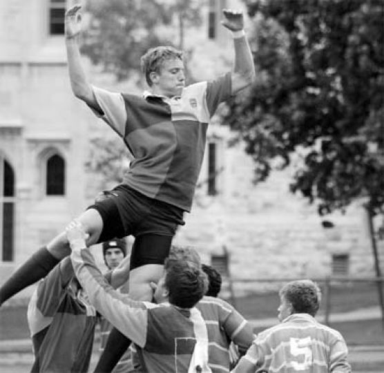 Ruggers are expected to support each other in title run. Tryouts began last week.